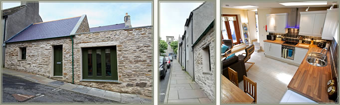 No.15 Church Road, self catering holiday accommodation Stromness, Orkney